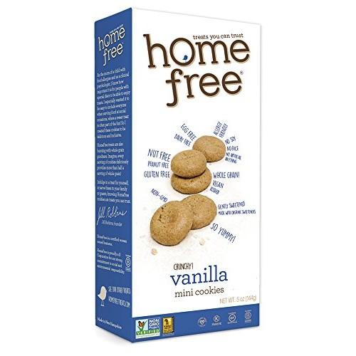 Homefree Treats You Can Trust Gluten Free Mini Cookies, 70% Orga...