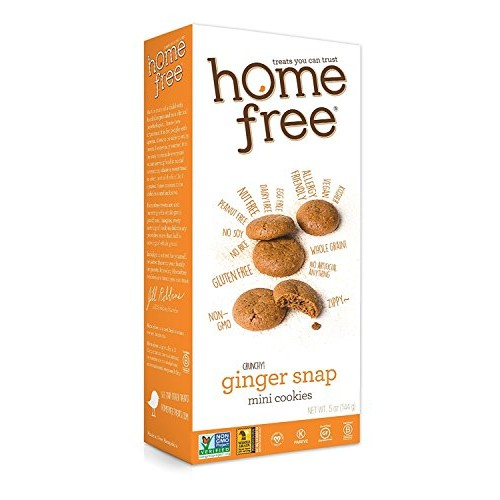 Homefree Treats You Can Trust Gluten Free Mini Cookies, Ginger S...