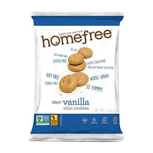 Homefree Treats You Can Trust Gluten Free Mini Vanilla Cookie, 7...