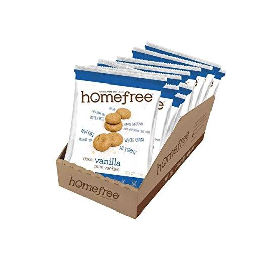 Home Free Organic Gluten Free Vanilla Mini Cookies, 1.1 Ounce - ...