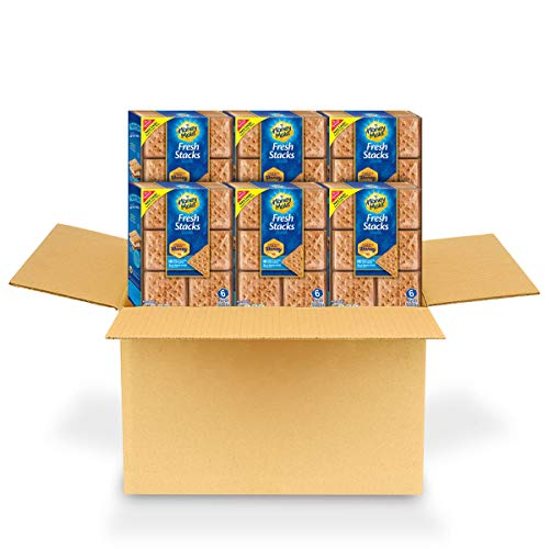 Honey Maid Fresh Stacks Graham Crackers, 6 Boxes of 6 Stacks 36...