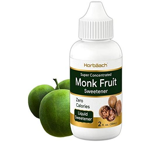 Monkfruit Sweetener Drops | 2 fl oz | Zero Calorie Sugar Substit...