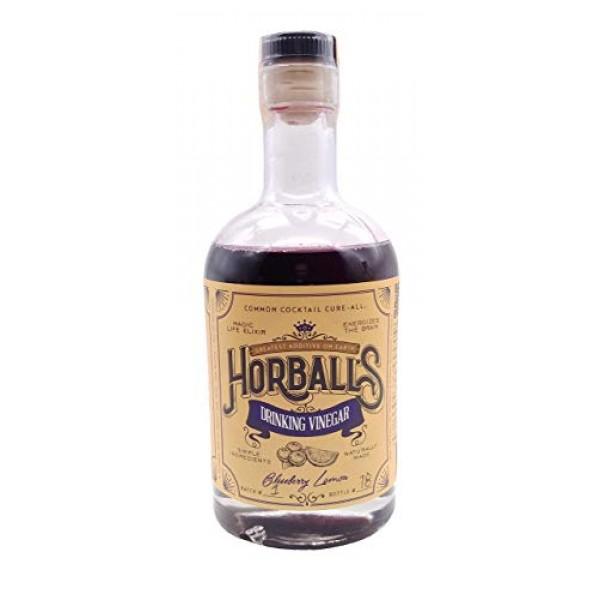Horballs Drinking Vinegar - Blueberry Lemon Shrub - Handcrafted...
