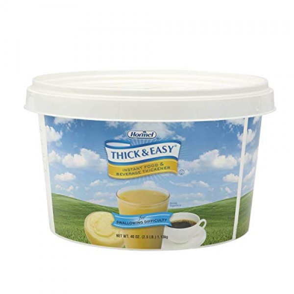 Thickener Thick & Easy Instant Food 4 Case 2.5 Pound