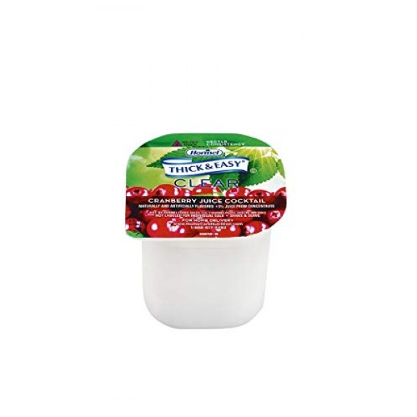 Hormel Drink Thick & Easy Cranberry Juice Nectar Consistency, ...