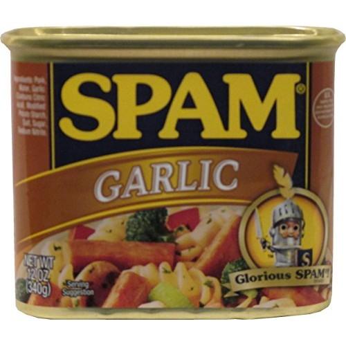 Hormel Garlic Spam 12 Oz (Pack of 3)