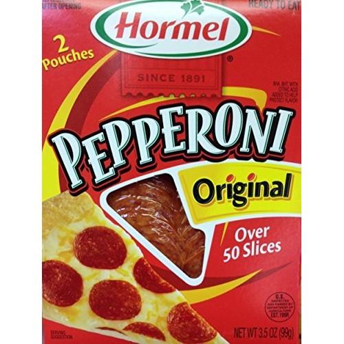 Hormel PEPPERONI Original 3.5oz 5 Pack