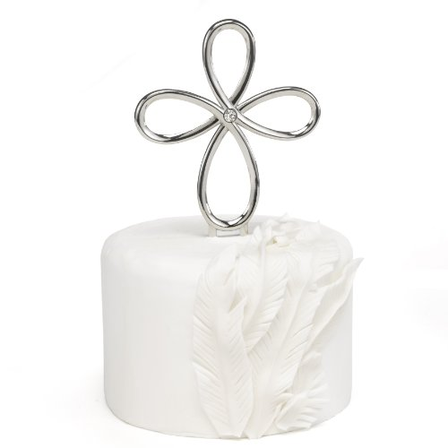 Hortense B. Hewitt Looped Cross Cake Pick Wedding Accessories