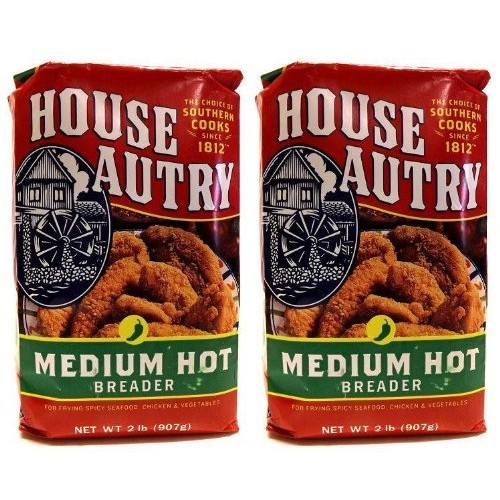 House Autry Medium Hot Breader 2-lb bags Pack of 2