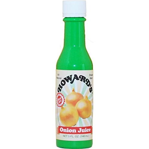 Howards Onion Juice New 5 Ounce Bottle (3 Unit Pack/15oz)