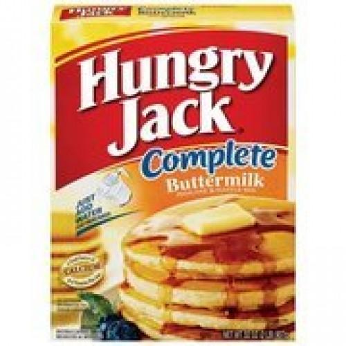 Hungry Jack Complete Buttermilk Pancake & Waffle Mix, 32 oz 2 P...