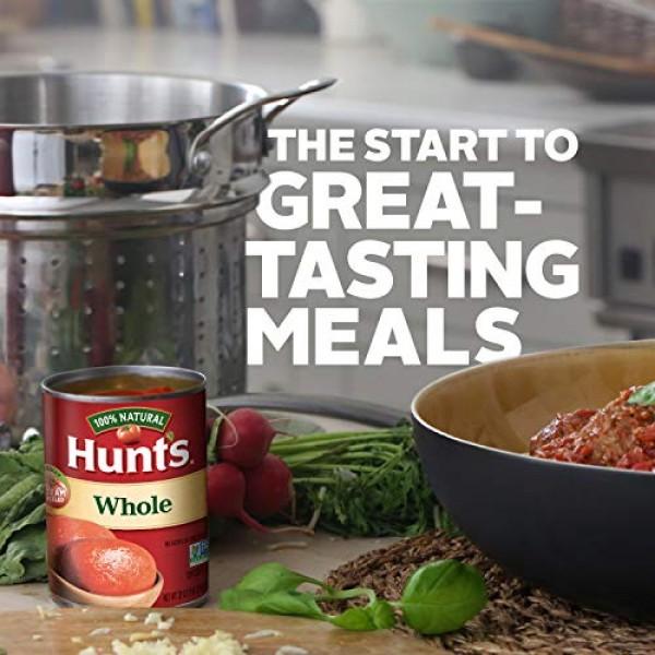 Hunts Whole Peeled Plum Tomatoes, Keto Friendly, 28 oz