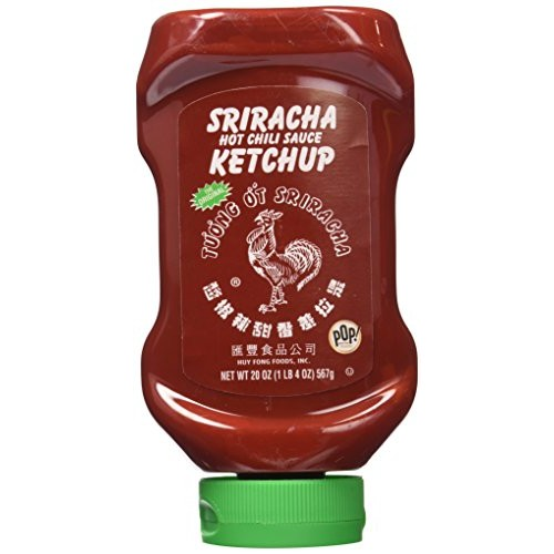 Huy Fong Ketchup Sriracha Style 20 Ounce 2 Pack