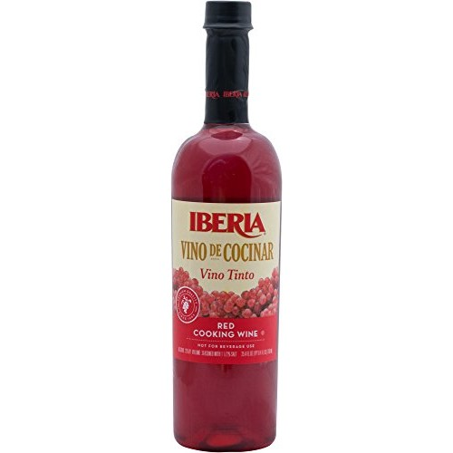 Iberia Red Cooking Wine 25.4 fl. oz., Exclusively for Cooking, F...