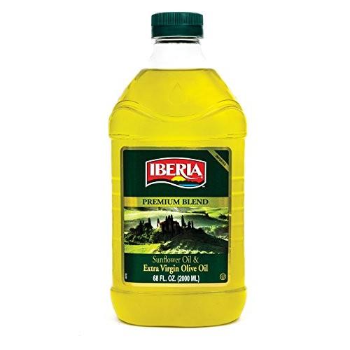 Iberia Extra Virgin Olive Oil & Sunflower Oil Blend, High Heat F...