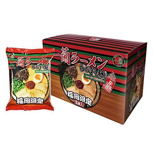 Japanese populer Ramen ICHIRAN instant noodles 5 mealsICHIRAN...