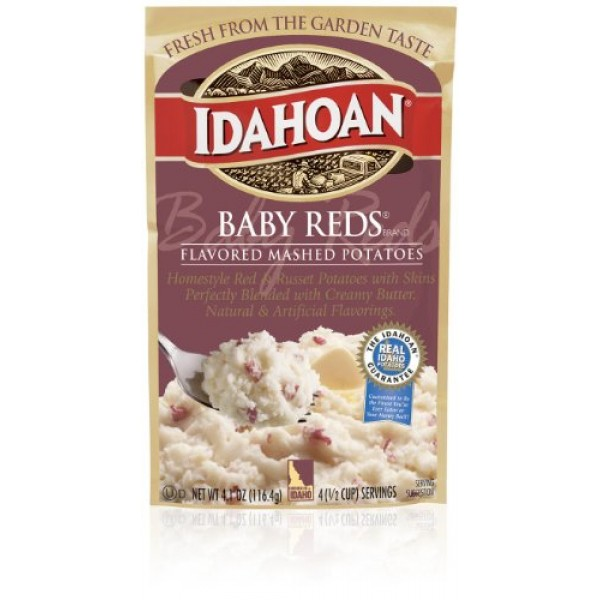 Idahoan Baby Reds Flavored Mashed Potatoes 10 Pack