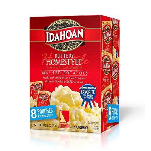 Idahoan Buttery Homestyle Mashed Potatoes, 8 pk. pack of 2
