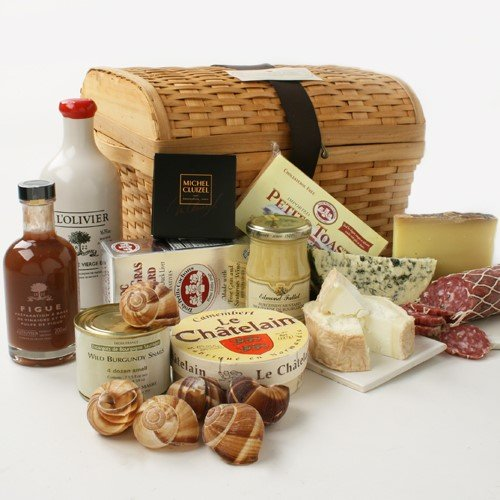 Gift Basket / Chest of Gourmet French Treasures - 10.7 lbs of De...