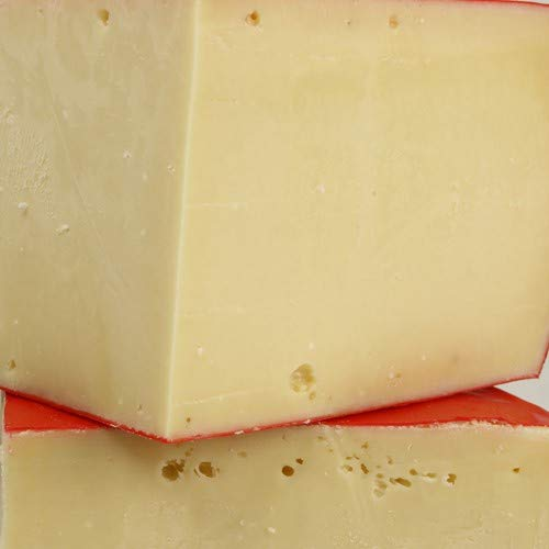igourmet Danish Red Wax Fontina Cheese by St Clemens 8 ounce