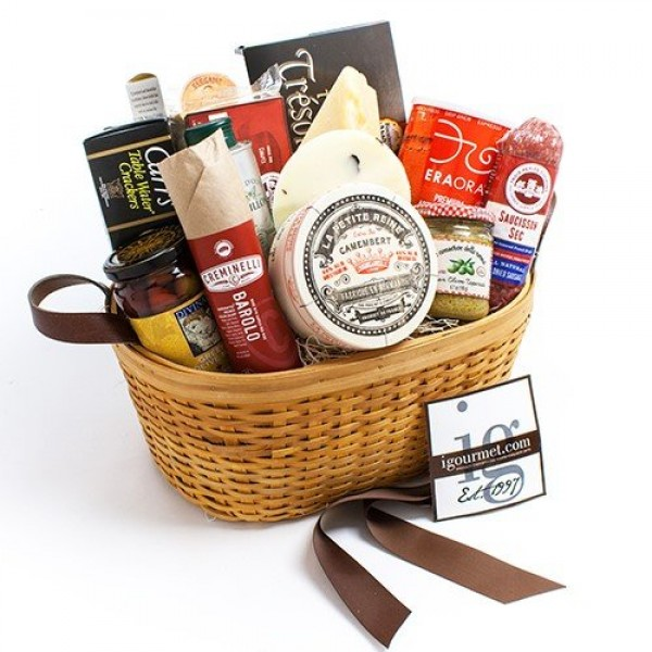 The Gourmet Foodie Gift Basket