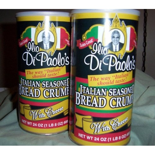 Ilio Dipaolo Seasoned Bread Crumbs-24oz