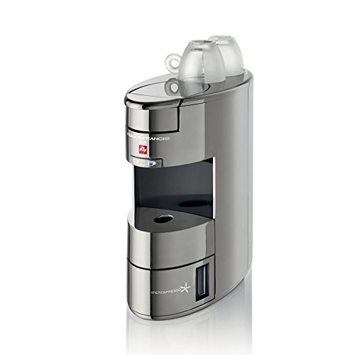 Chrome Illy iPerEspresso Home X9 Coffee and Espresso Machine