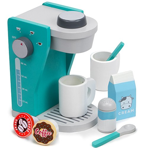 Rise & Shine Pod Capsule Coffee Maker Playset, with 2 Cups, 2 Po...