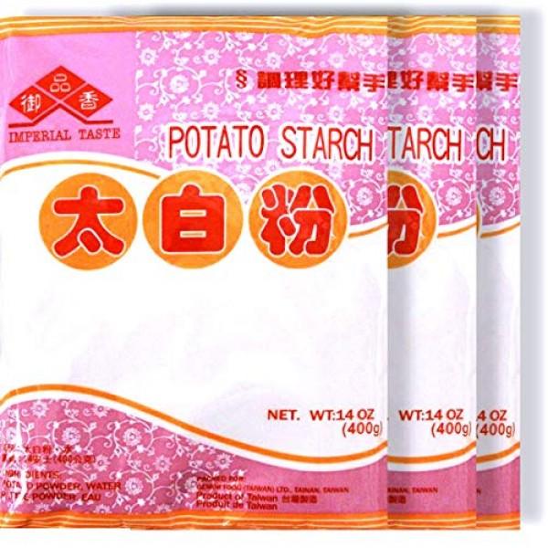 Imperial Taste Potato Starch Powder 14 oz, 3 Packs