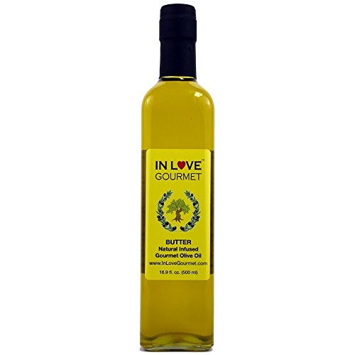 In Love Gourmet Butter Natural Flavor Infused Gourmet Olive Oil ...