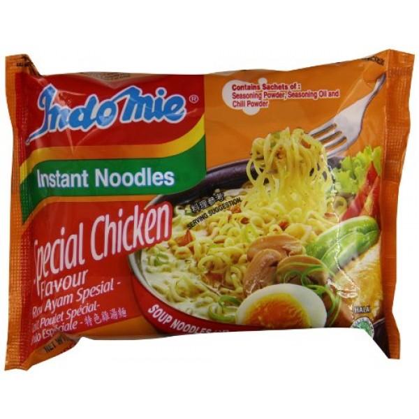 Indomie Mi Goreng Instant Stir Fry Noodles, Halal Certified, Chi...