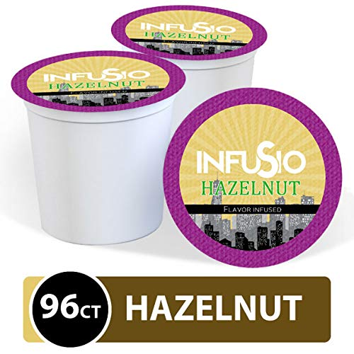 96 Count - Hazelnut Flavored InfuSio Coffee, Single-serve Cups f...