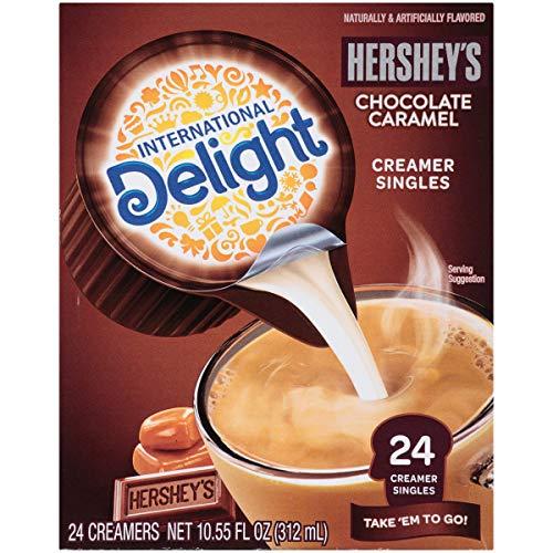 International Delight, Hershey Chocolate Caramel, Single-Serve C...