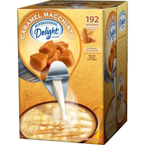 International Delight Non-Dairy Coffee Creamer Caramel Macchiato...