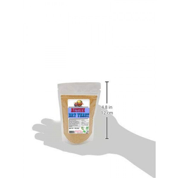 Active & Instant Dry Yeast -4 oz each! EXPIRE 06-2022 - FAST Shi...