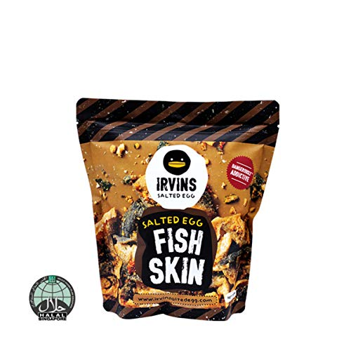 IRVINS Salted Egg Fish Skin Crisps 105g