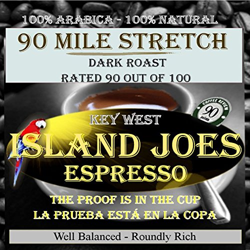 Island Joes Best Rated Ground Espresso 2 Lbs