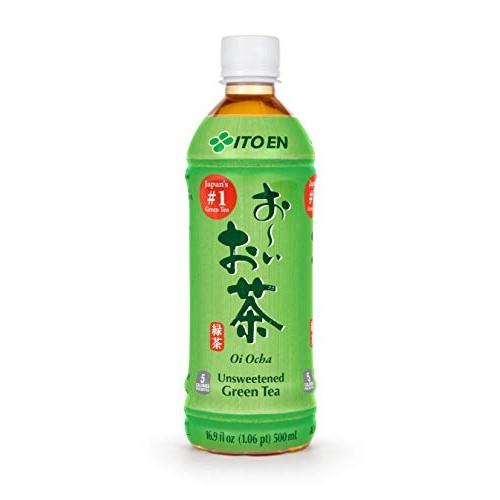 Ito En Tea Oi Ocha Green Tea, Unsweetened, 16.9 Ounce Pack of 12
