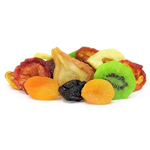 Dried Mixed Fruit with Prunes by Its Delish, 5 lbs Bulk | Snack...