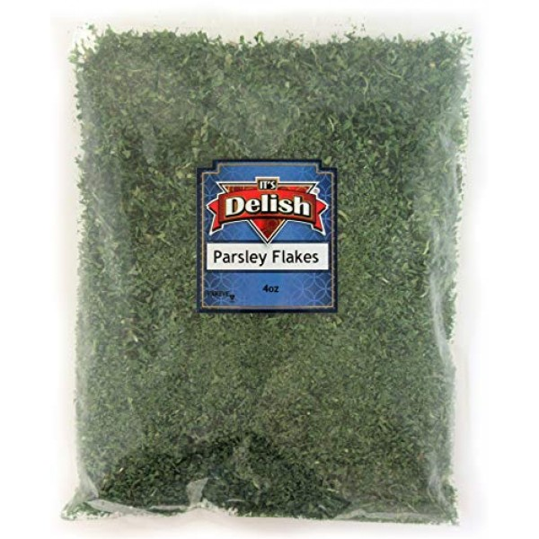 Dried Parsley Flakes by Its Delish 4 Oz