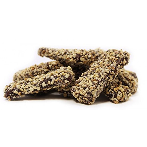 English Toffee Viennese Crunch by Its Delish Dark Chocolate Coa...