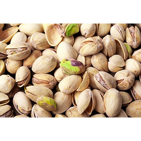 Roasted Salted Pistachios by Its Delish, 10 lbs