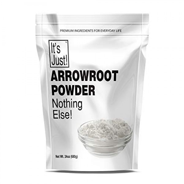 Its Just - Arrowroot Powder, Natural Thickener, Non-GMO 24oz