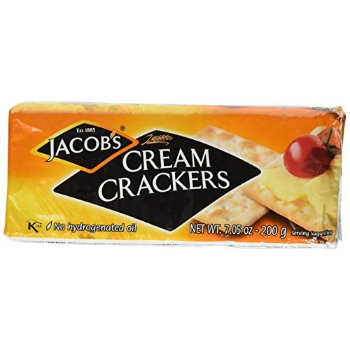 Jacobs Cream Crackers 200g (Pack of 4)