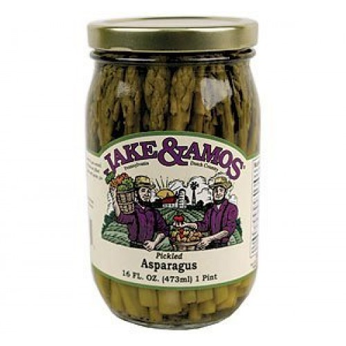 Jake & Amos Pickled Asparagus, 16 Ounce - 3 Pack