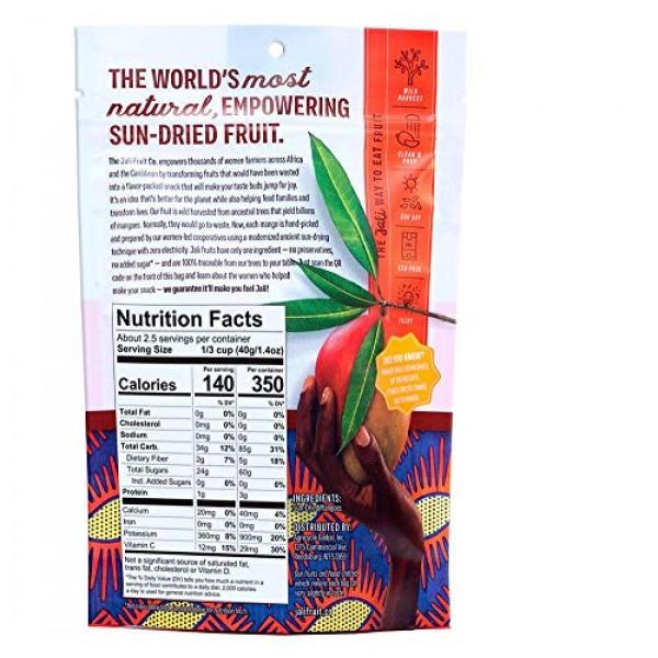 JALI FRUIT CO. - Mango-Rama - Sun Dried Fruit - Dried Mango Slic...
