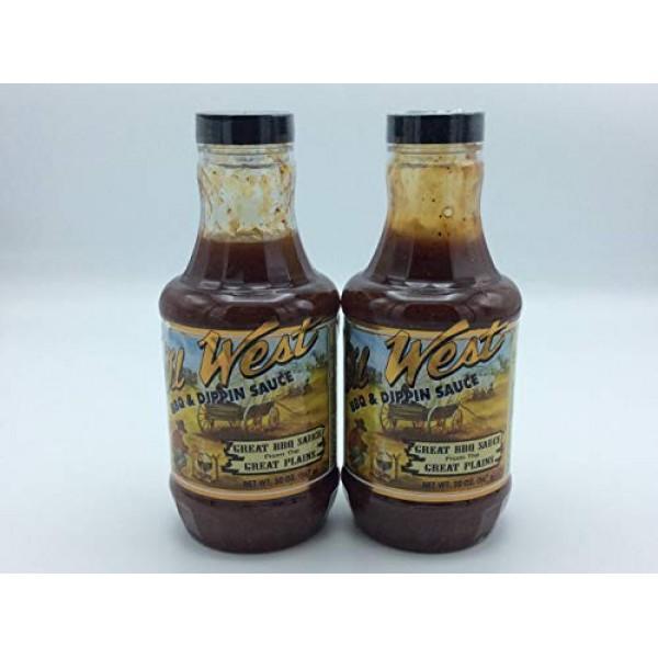 2 Pack Big Johns Ol West BBQ & Dippin Sauce 2 20Oz bottles