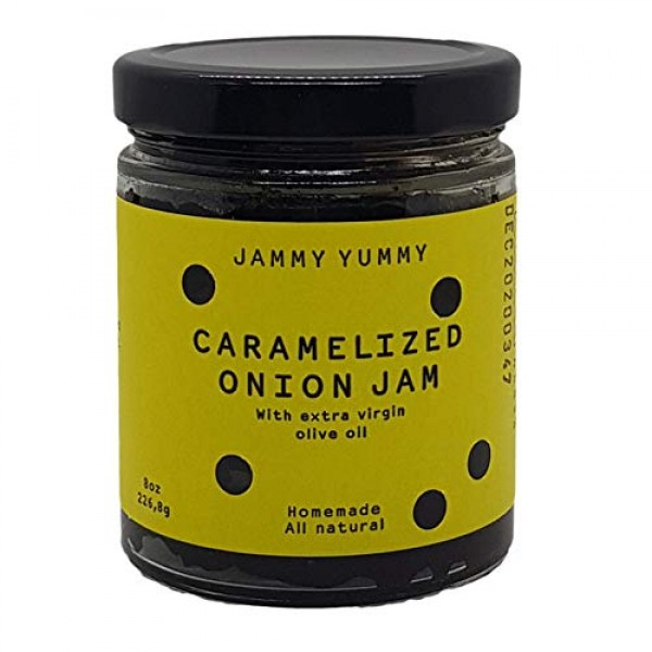Caramelized Onion 8oz Spread - All Natural Onion Jam - Real Cara...