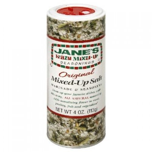 Janes Krazy Mixed Up Salt 4 oz (Pack of 2)