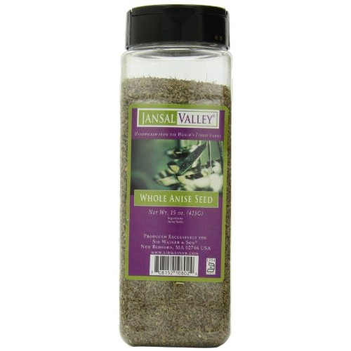 Jansal Valley Whole Anise Seed, 15 Ounce